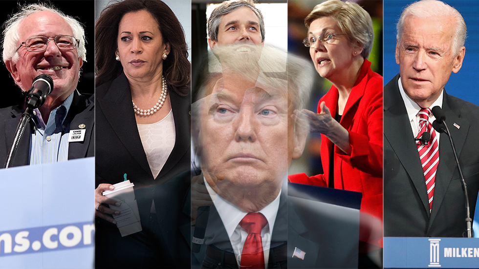Many Challengers Prepare a 2020 White House Run